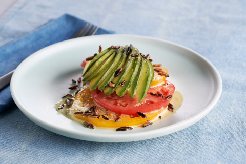 California Avocado and Heirloom Tomato Tartare, recipe created by Chef Phillip Frankland Lee of Scratch|Bar & Kitchen for the California Avocado Commission (Photo: Business Wire)