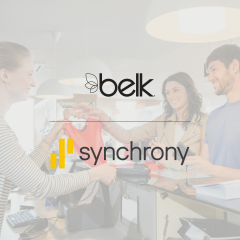 Belk and Synchrony deepen their relationship -- expanding payment options for consumers.