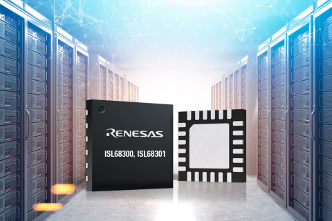 Renesas Scalable Digital Controllers Simplify Power Supply Design (Graphic: Business Wire)