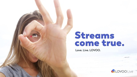 Love. Live. LOVOO. (Graphic: Business Wire)