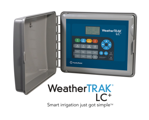 The HydroPoint WeatherTRAK LC+ controller delivers the power of cloud-based smart irrigation to light commercial users. (Photo: Business Wire)