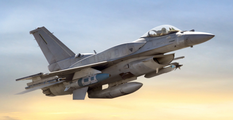 BAE Systems will provide flight controls to upgrade next-generation F-16 aircraft for the United Arab Emirates under a contract from Lockheed Martin. (Photo: BAE Systems)