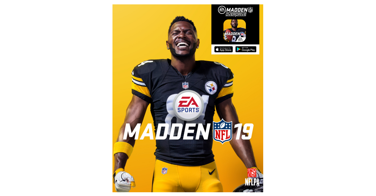 madden overdrive antonio brown jersey