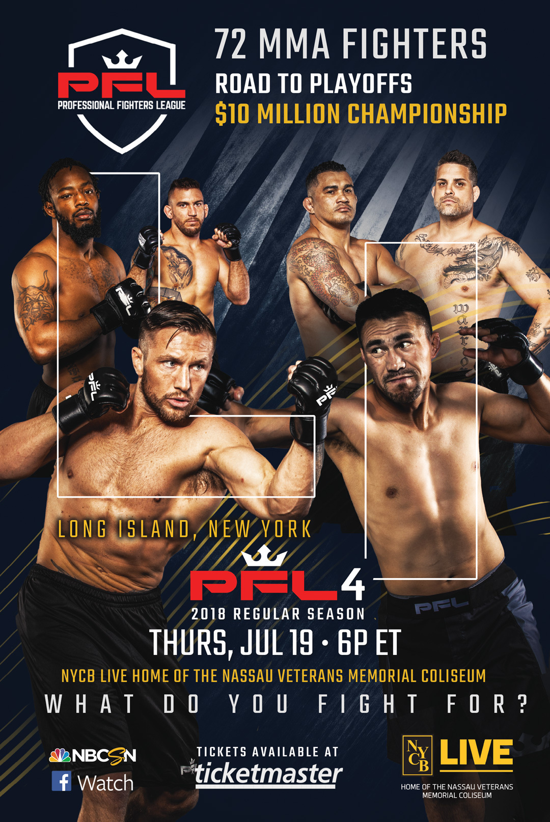 Professional Fighters League (PFL) Featherweights and Heavyweights
