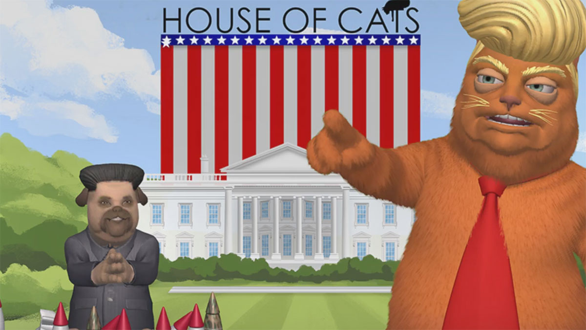 House of Cats White House Circus