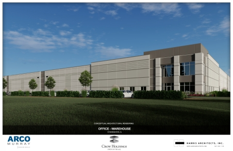 Crow Holdings Industrial breaks ground on 252,208 sq. ft. spec building in Chicago's I-80 Corridor industrial submarket. (Photo: Business Wire)