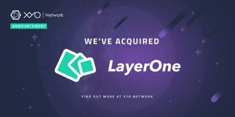 XYO Network acquires LayerOne and will open-source the company's cutting-edge geospatial blockchain location technology. (Graphic: Business Wire)