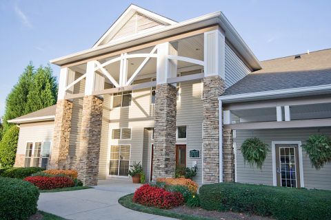 901 Place, a 576-bed, purpose-built student housing property that serves the University of North Carolina at Charlotte (Photo: Business Wire)