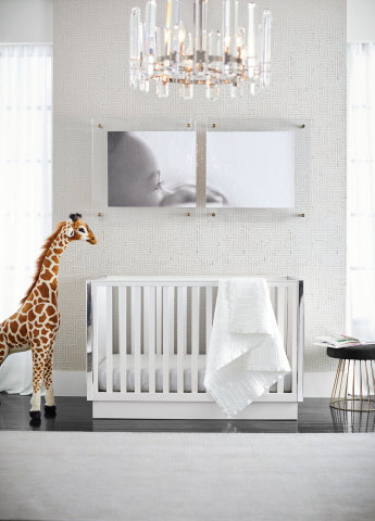 Nursery from the Pottery Barn Modern Baby Collection available today. (Photo: Business Wire)