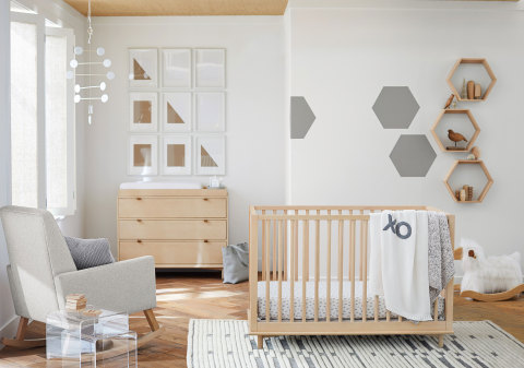 Nursery From The Pottery Barn Modern Baby Collection Available Today Photo Business Wire