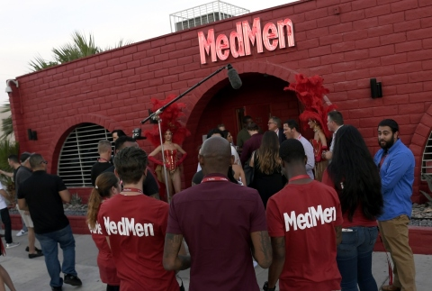 MedMen Downtown Las Vegas Opening Event (Photo: Business Wire)