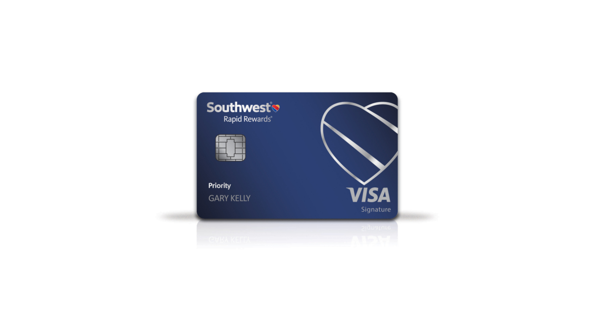 new southwest rapid rewards priority card takes flight business wire - Southwest Visa Card