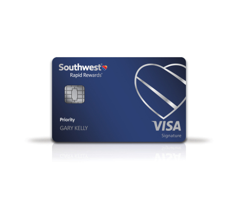 Southwest Rapid Rewards® Priority Card (Photo: Business Wire)