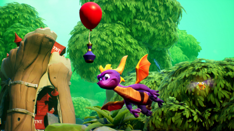 Spyro™ Reignited Trilogy lets players glide to new heights, unleash fire-breathing attacks, and expl ...