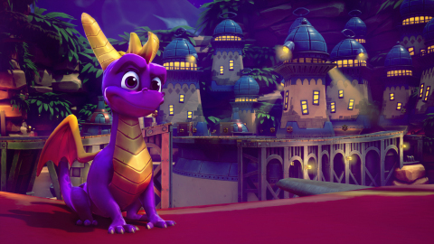 With more than 100 levels to explore, Spyro™ Reignited Trilogy offers players the unique opportunity to play in a variety of environments at different times of day including night-time levels. Spyro Reignited Trilogy is jam-packed with fun and nostalgia including the ability to play the game to the original soundtrack or the remastered music. (Photo: Business Wire)