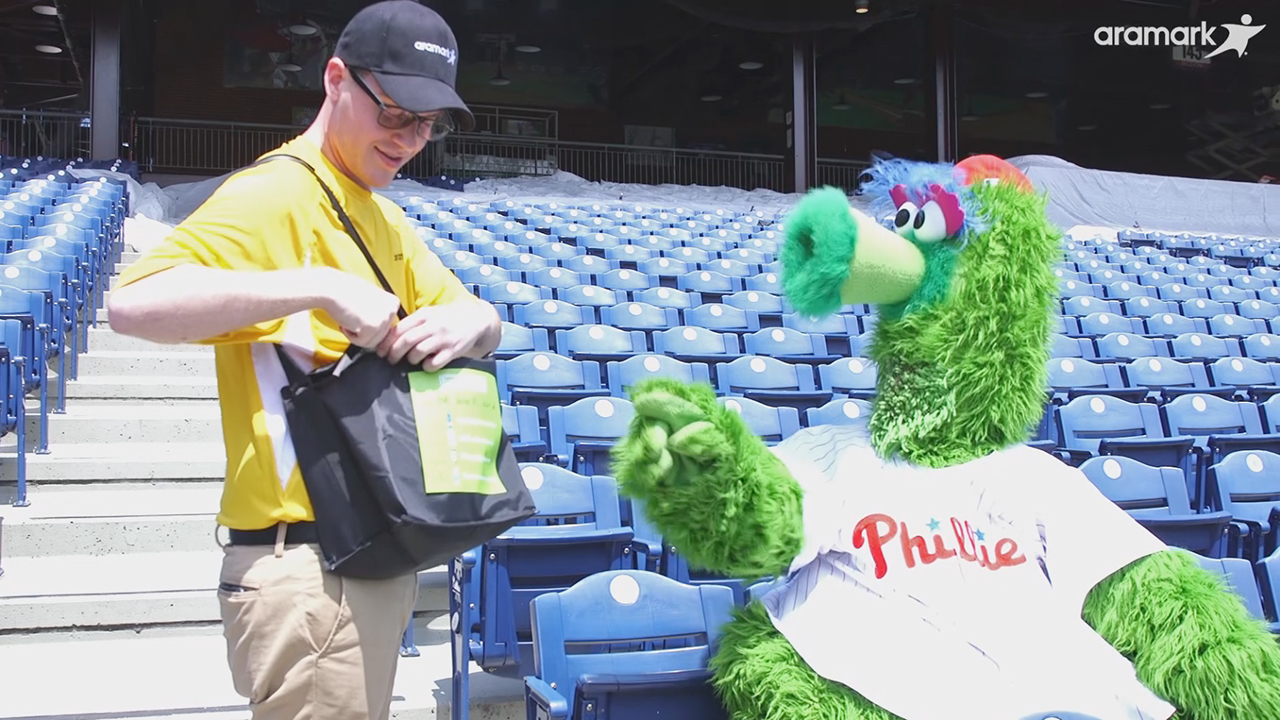 The Philadelphia Phillies and Aramark announced fans in designated sections of Citizens Bank Park will be able to use Apple Business Chat to place orders using their iPhone's Messages app to have the menu items delivered directly to their seats, as part of a ground-breaking pilot program.