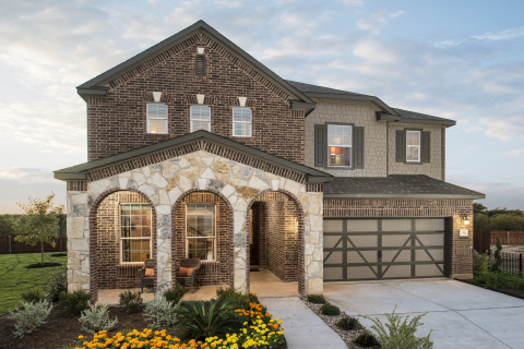 New KB homes now available in Lockhart, Texas. (Photo: Business Wire)