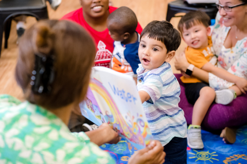 KinderCare Education, First Book, and Reach Out and Read partner together to provide books to more than 26,000 youth in the D.C. area, as part of an ongoing commitment to literacy and early childhood education. (Photo: Business Wire)