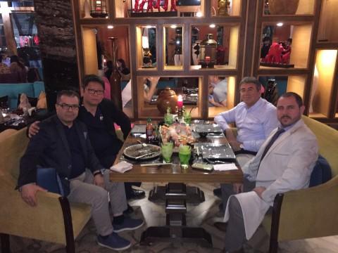Metin Aydin - General Director GJC-Silk Road, Louis Chua - Market Development Manager, Davut Azmi Erbas - Owner of APEAS, Yigit Zeren - Project Manager APEAs (Photo: Business Wire)