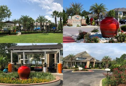 Transcontinental Realty Investors' asset Villas at Bon Secour in Gulf Shores, Alabama (Photo: Business Wire)