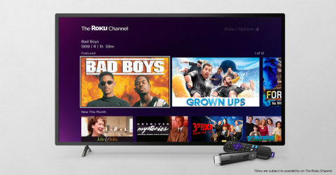 The Roku Channel - Canada (Graphic: Business Wire)
