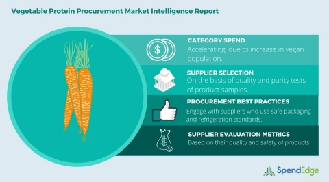 Global vegetable protein category procurement report (Graphic: Business Wire)