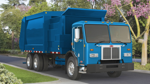 Peterbilt Model 520 Electric Refuse Truck (Photo: Business Wire)