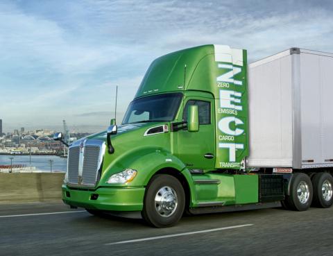 Kenworth T680 Zero Emissions Cargo Transport (Photo: Business Wire)