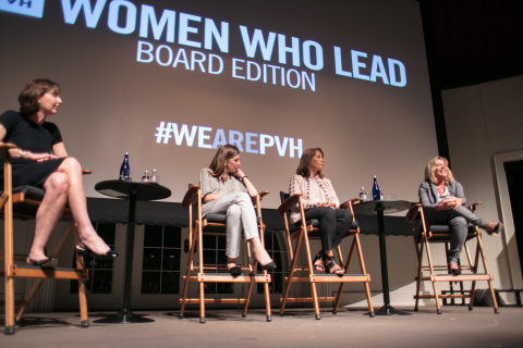 "PVH hosted a special session of its ""Women Who Lead"" speaker series featuring members of the PVH Board of Directors."