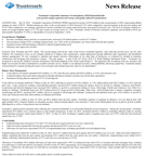 Trustmark Corporation Announces Second Quarter 2018 Financial Results