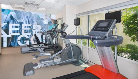 The state-of-the-art fitness center is open 24 hours a day. (Photo: Business Wire)