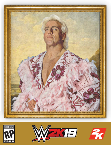 2K today announced plans for the Wooooo! Edition of WWE(R) 2K19, the forthcoming release in the flagship WWE video game franchise. Honoring 16-time WWE World Champion, global pop culture icon and WWE Hall of Famer Ric Flair. (Photo: Business Wire)