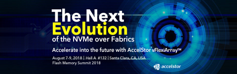 AccelStor will reveal new NVMe-oF solution at Flash Memory Summit 2018