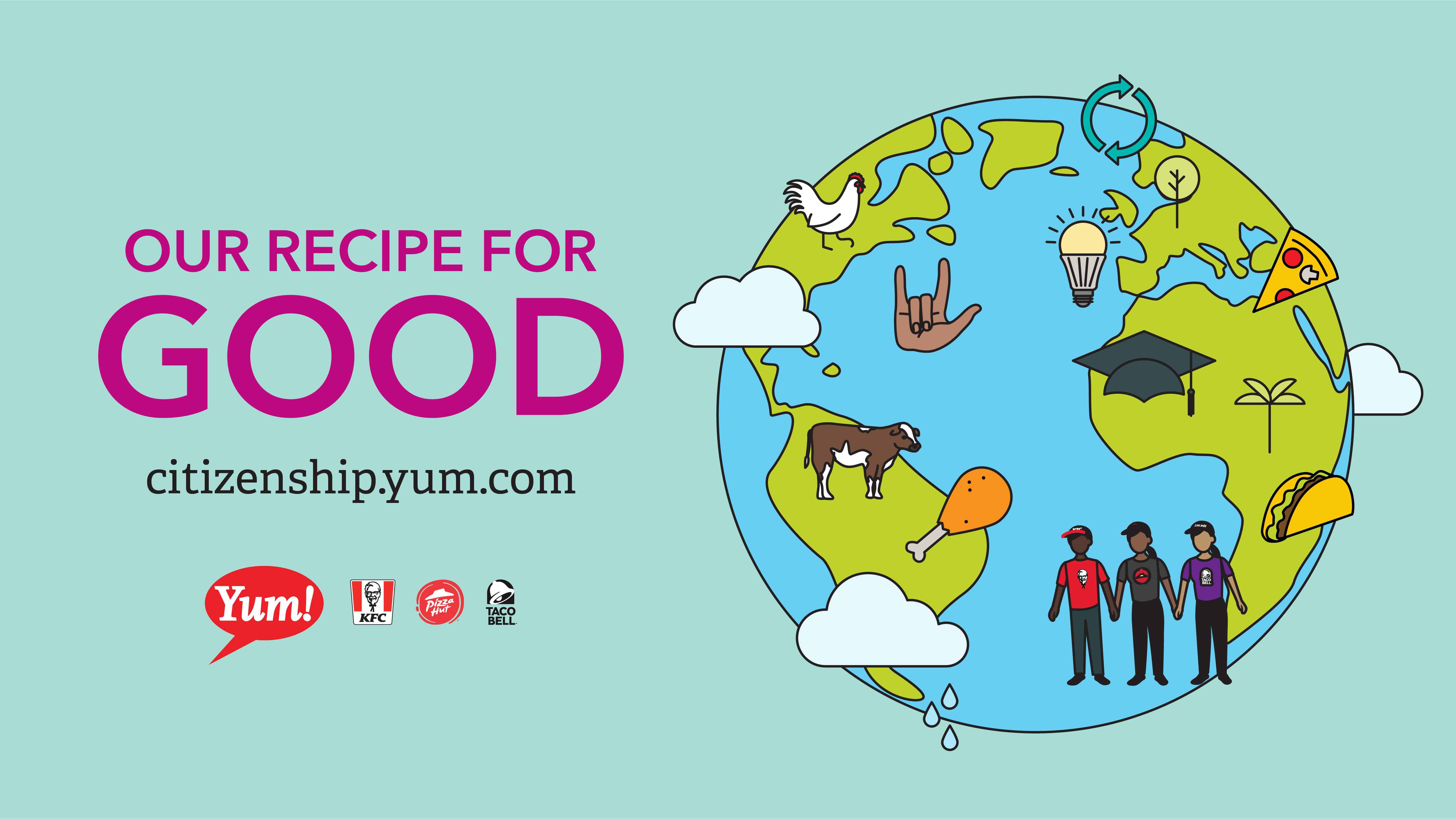 Yum! Brands\' Recipe for Good: 2017 Global Citizenship ...