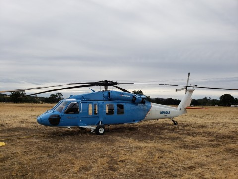 These new heavy-lift helicopters are part of the many steps PG&E has taken under its Community Wildfire Safety Program. (Photo: Business Wire)