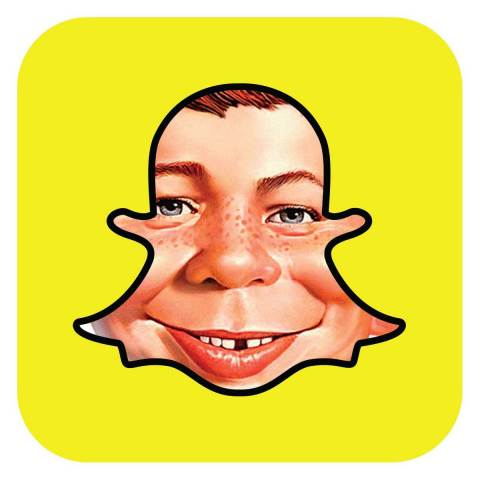 Snap and DC Entertainment Announce Content Partnership to Bring MAD Magazine to Snapchat (Graphic: Business Wire)