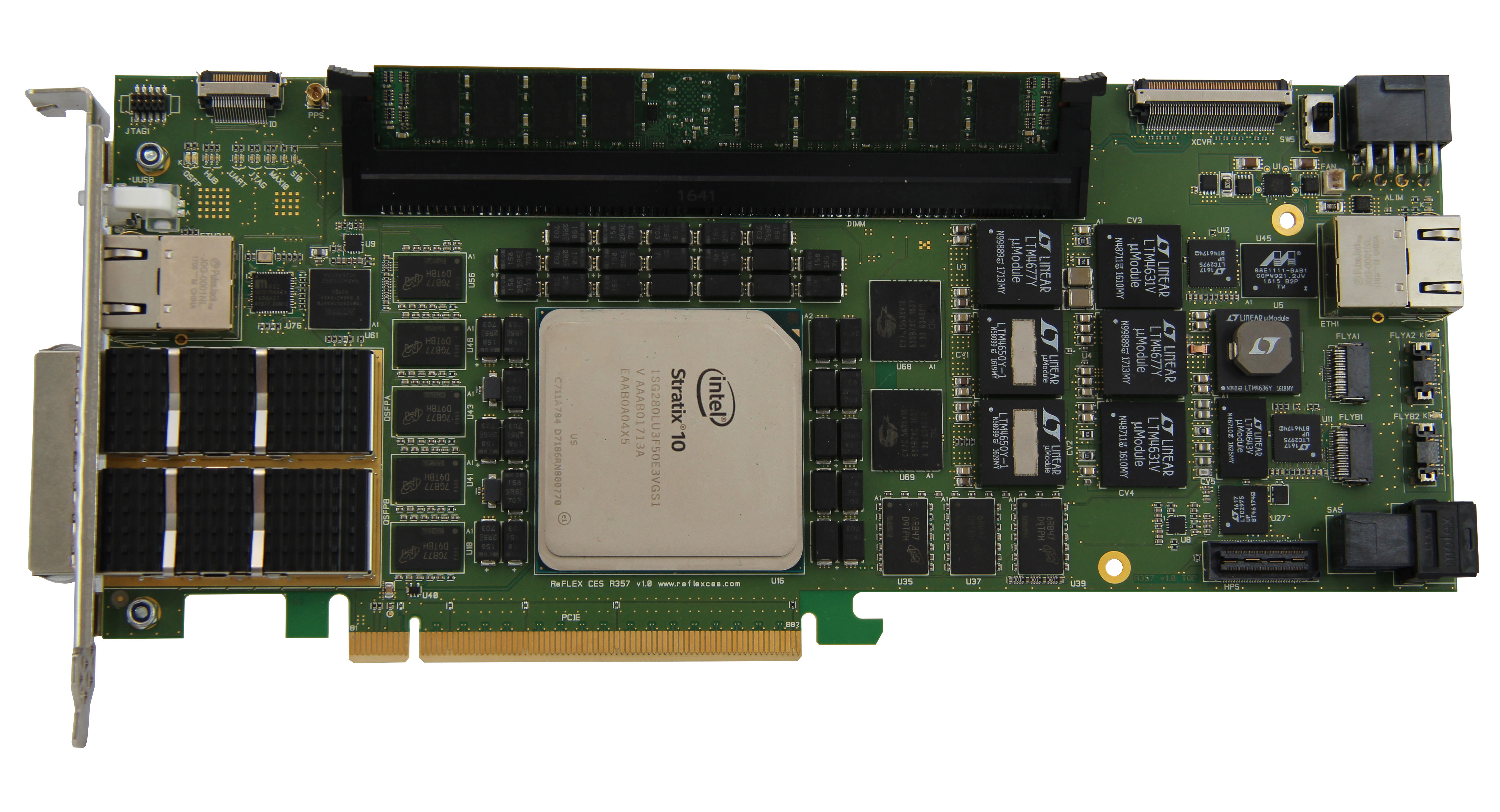 Stratix 10 FPGA: REFLEX CES Adds 26G Acceleration Hardware to the
