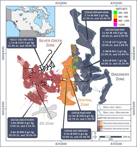 Silvertip: Plan View of Expanded Resource Interpretation (Graphic: Business Wire)