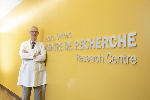 René St-Arnaud, Ph.D., Directeur de la recherche, Hôpitaux Shriners pour enfants Canada / Director of Research at Shriners Hospitals for Children - Canada (Photo: Business Wire)