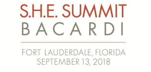 Tickets on Sale Now to the 3rd Annual S.H.E. Summit Bacardi; A One-Day Women's Empowerment Conference in South Florida (Photo: Business Wire)