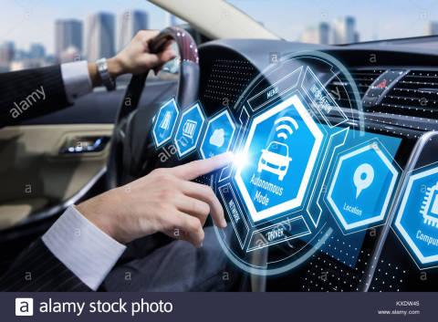 Autonomous Vehicle Interior Mockup (Photo: Business Wire)