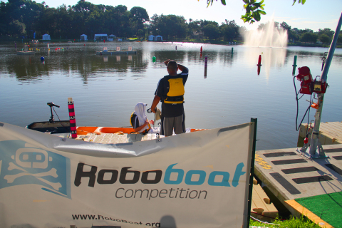 The RoboBoat Competition was run in perfect conditions. (Photo: Business Wire)