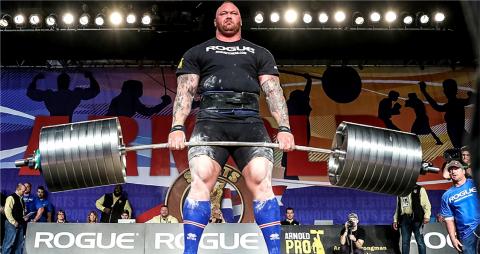 Hafthor 'The Mountain' Bjornsson World's Strongest Man (Photo - AETOSWire)
