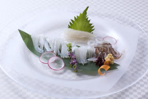 Hakodate Onuma Prince Hotel: Hokkaido Squid (Photo: Business Wire)