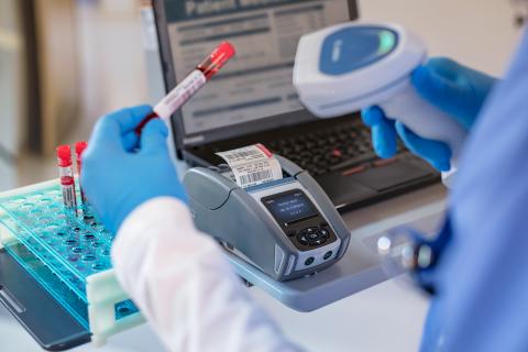 The ZQ610-Healthcare Printer (Photo: Business Wire)