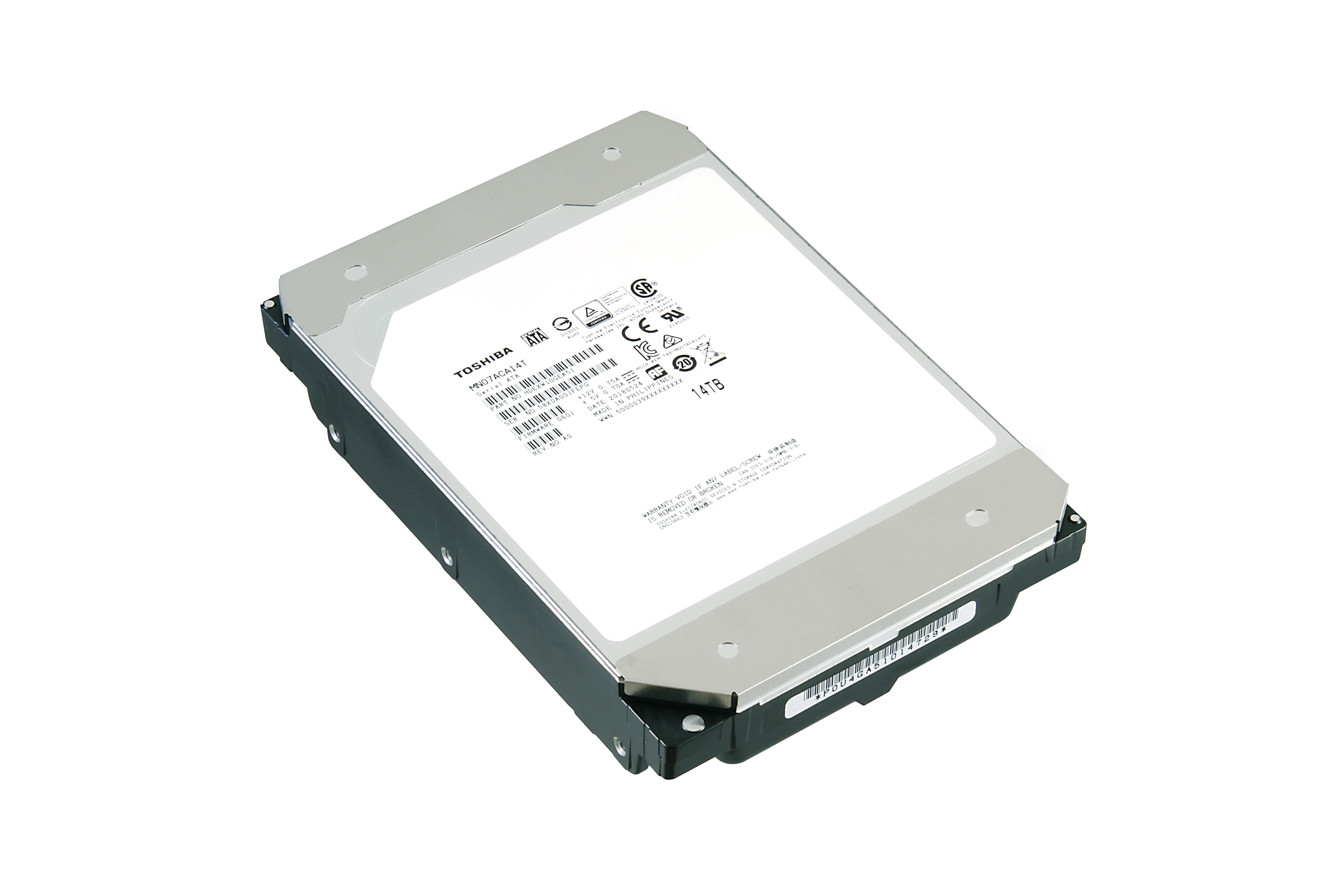 Toshiba Announces New MN07 Series Hard Drives for NAS Platform OEMs