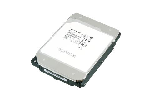 東芝:記憶容量14TBのNAS向け3.5型HDD「MN07ACA14T」 (写真:ビジネスワイヤ)