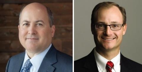 Left: Mark Nicholls, Nerium International CFO. Right: Brad Wayment, Nerium International President of Global Markets (Photo: Business Wire)