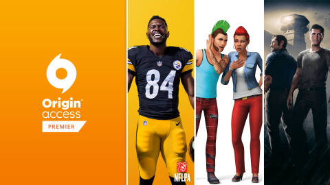 EA Launches Origin Access Premier PC Subscription Service, giving Premier Members the Latest PC games including EA SPORTS Madden NFL 19, EA SPORTS FIFA 19, Battlefield V, Anthem and More (Graphic: Business Wire)