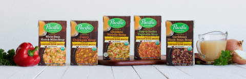 Pacific Foods' Bone Broth Gives New Organic Soups a Nourishing Boost (Photo: Business Wire)